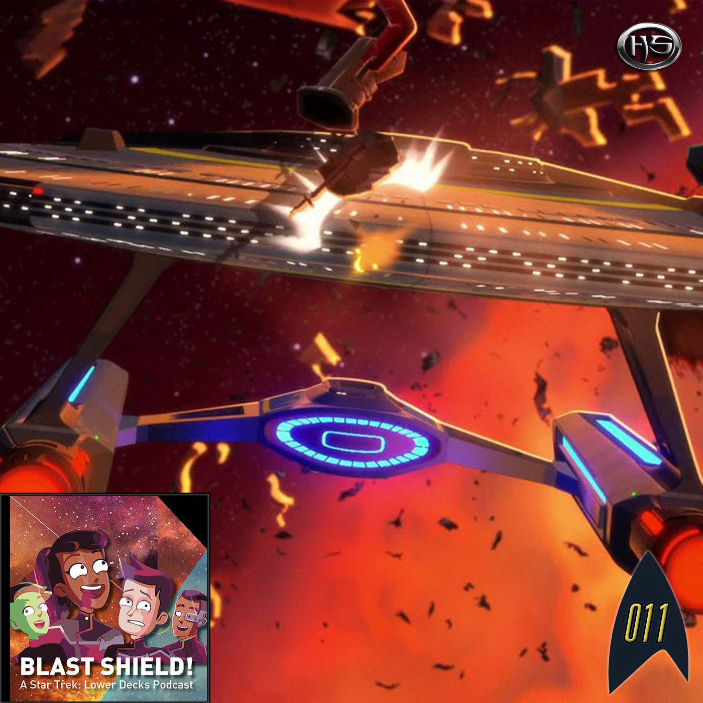 Blast Shield! Episode 11